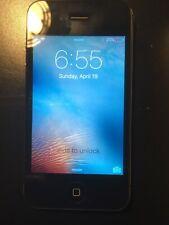 Apple iPhone 4s A1387 16GB Black (Sprint) Smartphone Cellphone Locked  & Working