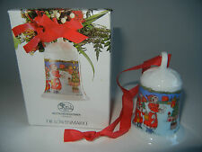 Hutschenreuther Weihnachtsglocke Porz. 1996 In der Burg - einwandfrei erhalten!
