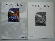 Prospekt Opel Vectra B Facelift, 1.1999, 16 Seiten + Preisliste