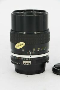 NIKON Nikkor  AI 135mm f/3.5   With A Fault - Professionally Tested