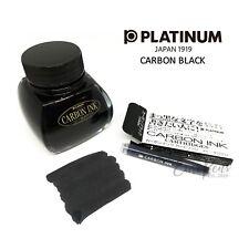 Platinum Carbon Black 60cc Ink Bottle or Carbon Ink Cartridges - UK SELLER