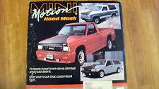 84-88 Toyota 4Runner or Pickup Truck Mini Motion Hood Mask Bra Covercraft MB 229