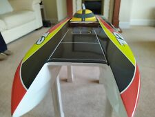 BRUSHLESS BOAT GENESIS Complete SET UP WITH LEOPARD SWORDFISH SET UP INCLUDED.
