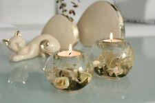 GILDE Dreamlight Traumlicht Teelicht Leuchter Mabree Mercur Smart beige gold NEU