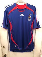 2c1b5e8aa NWOT Adidas ClimaCool France National Soccer Team Home Jersey 06 07 Men s L  EUC
