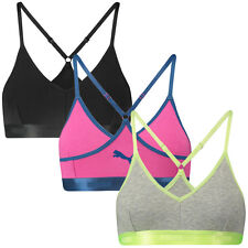 PUMA Women's Bralette Comfort Control Bra/Gym Top - Available in 3 Colours