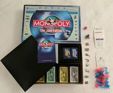 Monopoly .com Edition Board Game Parker Brothers 100% COMPLETE