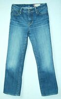 Crease Distressed LOW Rise Boot Cut GAP Classic Ankle STRETCH Jeans! 2 R