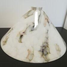 écran de verre lampe blanc - Gris Schuster Ø 34cm rechange abat-jour