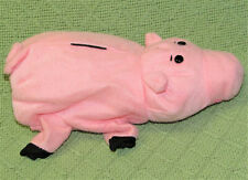 VINTAGE 1995 TOY STORY PALS HAMM HAND PUPPET BURGER KING PROMO PINK PIG PLUSH