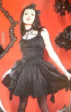 LIP SERVICE JARDIN NOIR LOLITA BLACK DRESS M 83-196