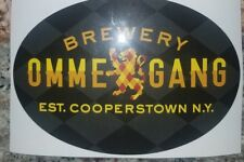 Ommegang brewery Craft Beer Brewery sticker