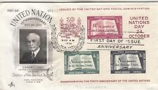 UN38 United Nations First Day Cover