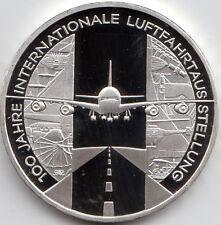 10 Euro Gedenkmünze Luftfahrtausstellung 2009 Polierte Platte Silber 925/-