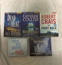 Political Thrillers Audiobook Lot of 5