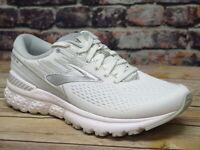 Women's Brooks Adrenaline GTS 19 White/White/Grey Running *120284151