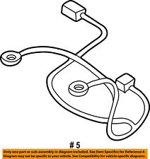 FORD OEM 01-04 Escape Battery-Negative Cable 2L8Z14300AA