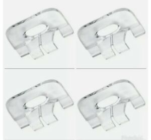 4 Four Bali graber Clear Plastic cellular Honeycombshade handles Pull Down Clip