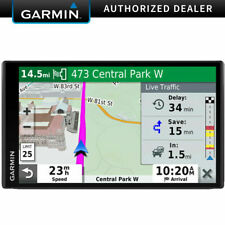 "Garmin DriveSmart 65 & Traffic Gps Navigator with 6.95"" Display New In White Box"
