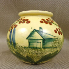 Unmarked Earthenware Art Pottery