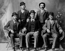 Butch Cassidy and Sundance Kid Part of the Wild Bunch at Fort Worth 8x10 Photo
