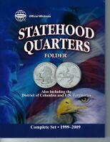 New Whitman Folder for all State & Territorial 60 Quarter Types From 1999-2009!