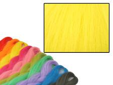 CYBERLOXSHOP PHANTASIA KANEKALON JUMBO BRAID LEMON YELLOW HAIR DREADS