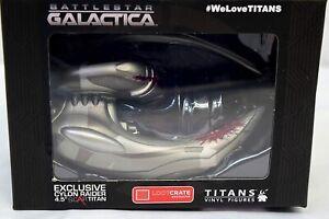 °BATTLESTAR GALACTICA  CYCLON RAIDER SCAR TITAN° 100% lizenziert Loot Crate Neu