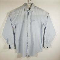 Brooks Brothers Mens Dress Shirt Button Up Long Sleeve 100% Cotton Size 16/36-37