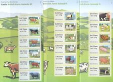 Farm Animals-Post & Go 3 sets mnh-Sheep Cattle-Pigs-Great Britain-18 x 1st class