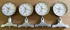 Lot of 4 Mitutoyo #2902-08 .01 to 10MM Dial Indicators