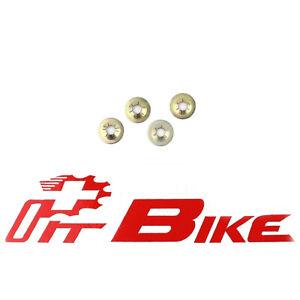 Honda NOS Side Cover Emblem Clip Mount CB100 CB125S 4 pcs