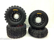 Hiper Tech 3 Beadlock Wheels + CST Ambush Tires Front/Rear XC Kit TRX 450R 450ER