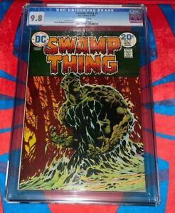 Swamp Thing #9 CGC 9.8  🔥🔥 1974 🔥🔥