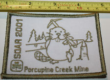 Girl Guides Canada SOAR 2001 Porcupine Creek Mine Patch Badge
