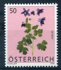 Austria 2008 50c flowers stamp mint