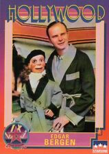 Edgar Bergen Ventriloquist Puppet Charlie McCarthy with Monocle --- Trading Card