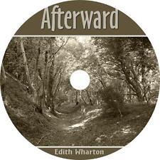 Afterward, Edith Wharton Classic Suspense Ghost Story Audiobook on 1 Audio CD