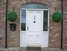 2 Huge Best Artificial 50cm Green Boxwood Buxus Topiary Grass Hanging Balls New