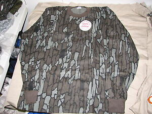 medium pella long sleeve camo shirt hunting usa made