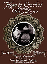 Marie Antoinette Hees #4 1914 Vintage Patterns to Make Cluny Crochet Lace