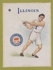 1910 Lg Murad tobacco silk S21 University Of Illinois Hammer Throw Tough