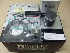 KAWASAKI KX60 KX 60 NAMURA TOP END COATED PISTON GASKET KIT ALL SUZUKI RM60 RM