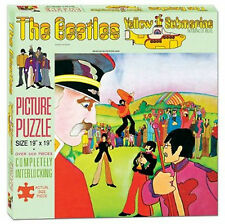 """The Beatles Yellow Submarine Picture Puzzle New 2013 19""""X19""""  500 Piece"""