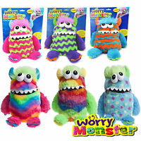 BIG 35CM WORRY MONSTER CUDDLY TOY LOVES EATING WORRIES & BAD NIGHTMARES DREAMS