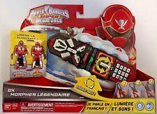 Power Rangers Super Megaforce-Deluxe legendario Morpher * Versión Francesa * 38186