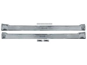 1967-68 Galaxie Step Plates 2-Door Sill Scuff Threshold Trim 500 XL LTD Ford New