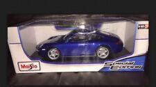 1:18 Maisto Porsche 911 Carrera S Super Performance Sports Car 1/18 Rare Colour