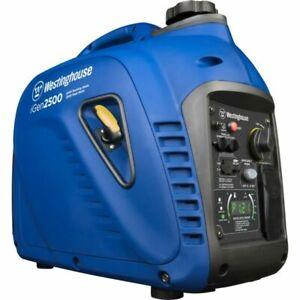 Westinghouse Outdoor Power Igen2500  2500 Watt Portable Inverter Generator New!