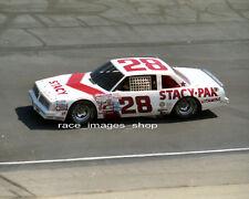 BENNY PARSONS  #28 STACY PAK  1982 NASCAR ACTION-SHOT  8x10 GLOSSY PHOTO  #65